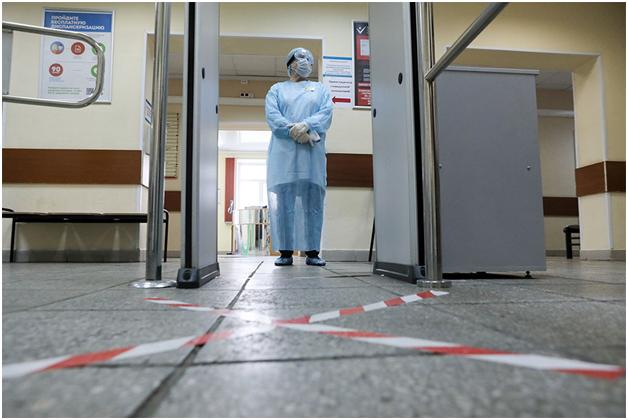 В России не утихает эпидемия коронавируса