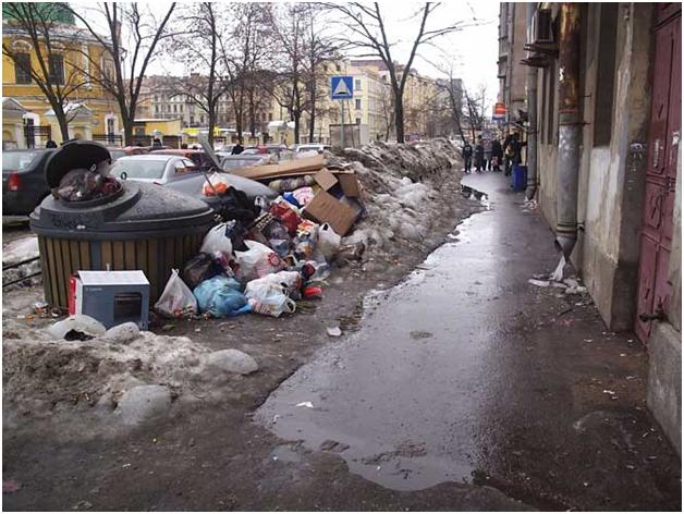 Петербург не готов к мусорной реформе - эксперт
