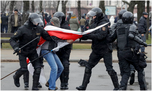 """Белорусский министр поблагодарил США за """"неизменную поддержку суверенитета и независимости Белоруссии"""""""