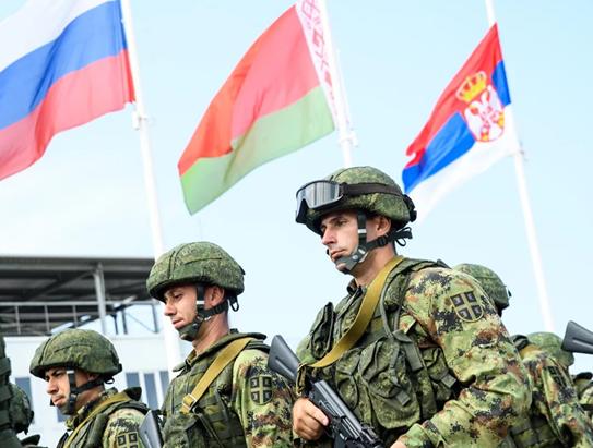 Военнослужащие России и Сербии войдут в Белоруссию