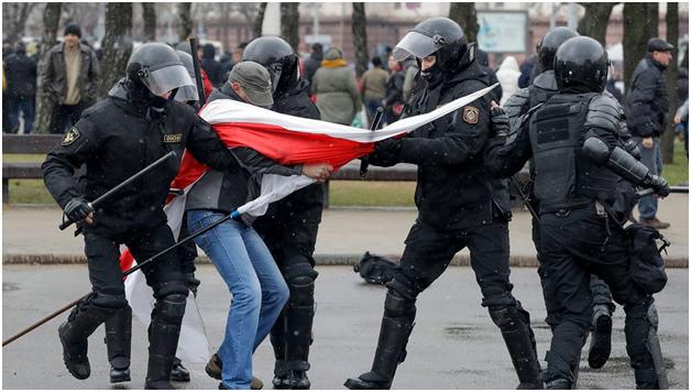 Литва и Украина солидаризировались в давлении на белорусского узурпатора
