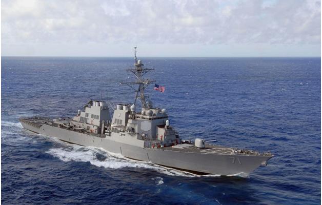 Американский эсминец безнаказанно вторгся в российские территориальные воды под Калининградом на восемь километров - источники