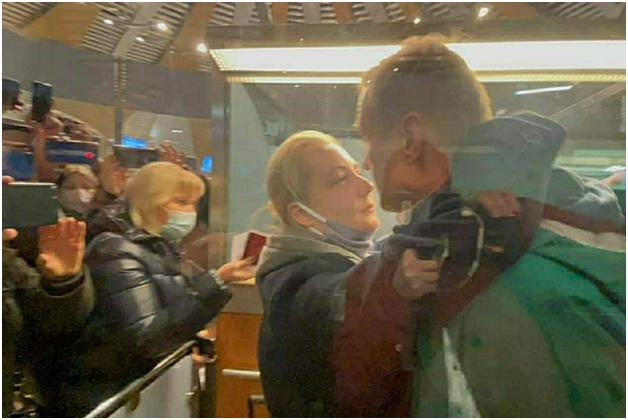 Навального отправили в СИЗО