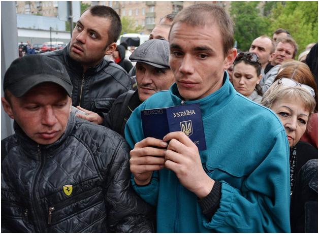 409,5 тысячи украинцев за год стали гражданами РФ