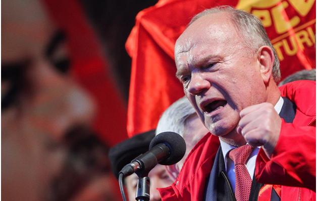 Зюганов призвал Путина сменить политический и социально-экономический курс