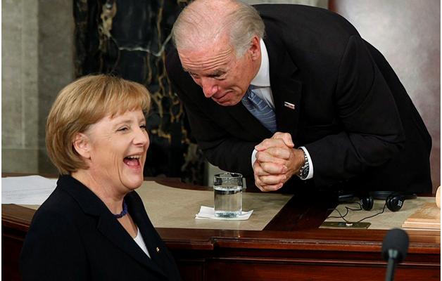 Меркель пообещала Байдену показать России кузькину мать