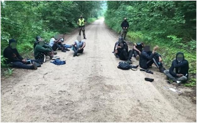 Литовские пограничники убили беженца, следовавшего с территории Белоруссии